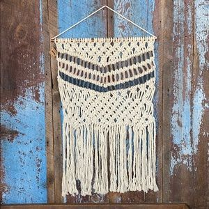 Hand Knotted Macrame Large Wall Hanging